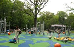 Детская площадка в Останкино