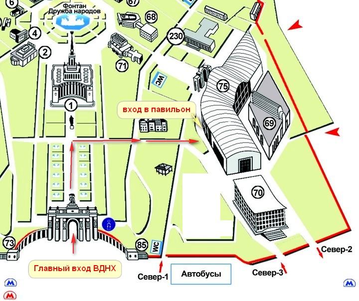 Схема павильонов ввц (вднх) | москва: выставки-ярмарки, фестивали.