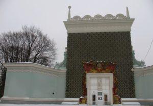 Павильон 62 ВДНХ фото зимой