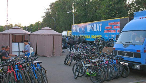 Прокат велосипедов вднх
