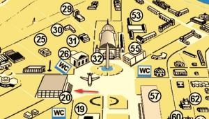 Павильон 20 ВДНХ карта