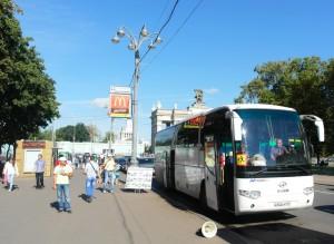 Автобусные экскурсии от ВДНХ