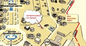 Летняя читальня карта